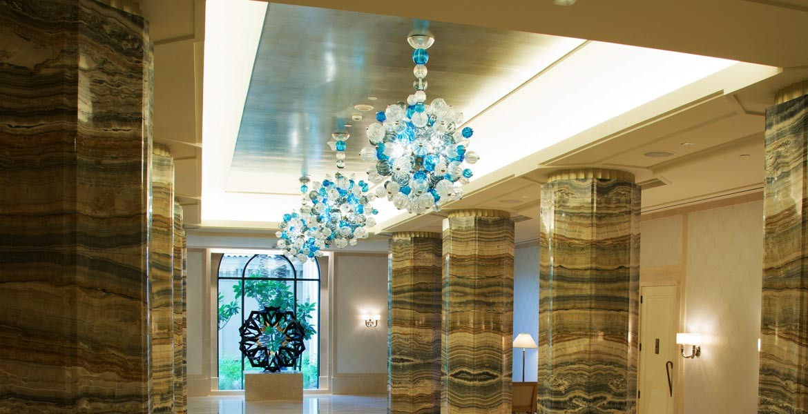 GLASS / projects / Contemporary Lighting Four Seasons Resort & Seguso | Contemporary Lighting Four Seasons Resort